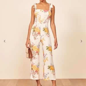 NWT REFORMATION Fay Jumpsuit
